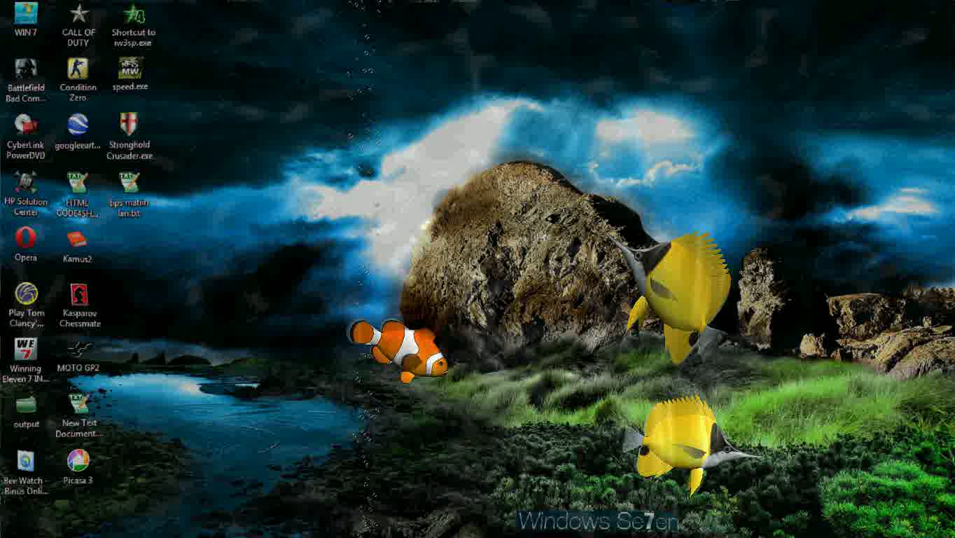 aquarium 3d live wallpaper pc
