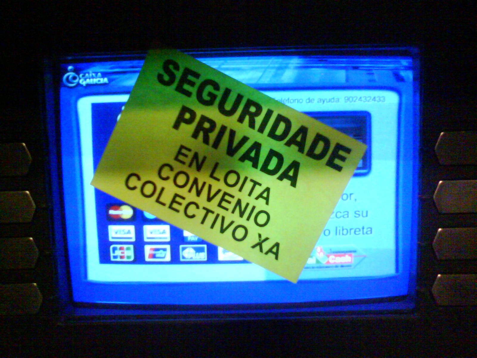 Secci n sindical securitas barcelona cientos de cajeros for Cajeros barcelona