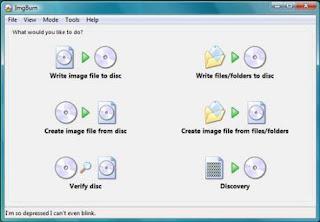 imageburn Optimized Software software gratis terbaik untuk komputer anda 2