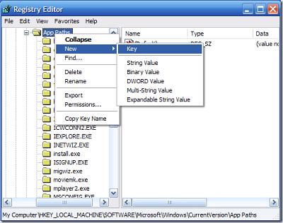 patch2 Cara cepat membuka program pada Windows XP
