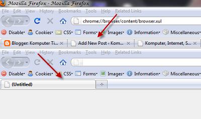FF Tips menjalankan Firefox dalam Firefox