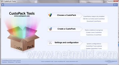Custom packs Customize Windows agar tampil cantik dengan CustoPacks Tools