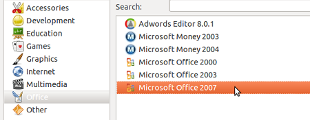 playonlinux office Cara mudah install MS Office 2007 pada Linux