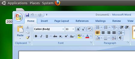 playonlinux word Cara mudah install MS Office 2007 pada Linux