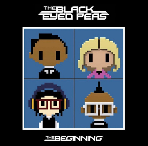 Above is the standard album cover for The Black Eyed Peas upcoming album