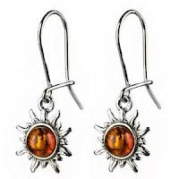 Certified Genuine Baltic Honey Amber earrings