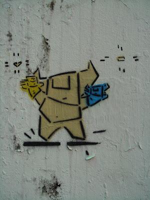 Puppets Graffiti