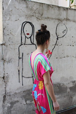 Street Art - Paint of a Woman