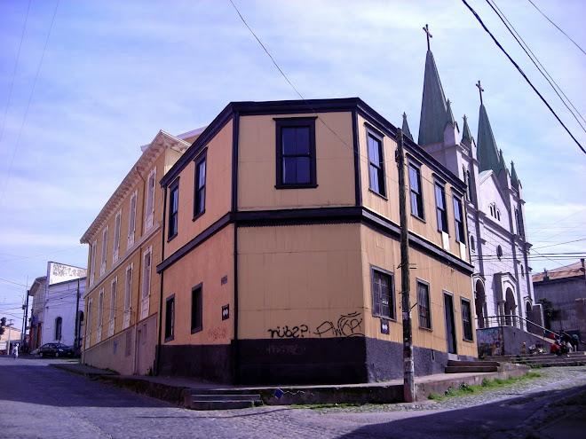 Fachada e Iglesia San Luis, Cerro Alegre