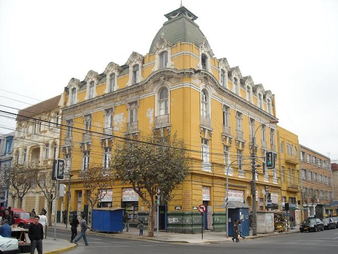 Fachada, Victoria con Uruguay, Valparaíso