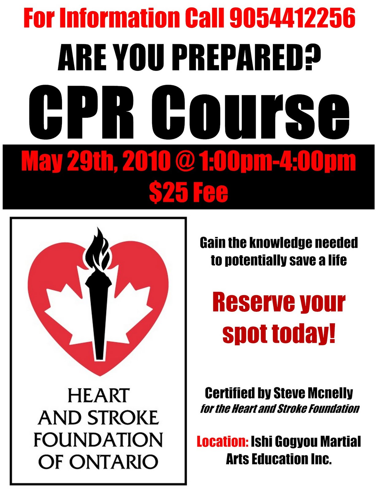 Cpr certification course the dojo on may 29th 2010 dojo news cpr certification course the dojo on may 29th 2010 xflitez Choice Image