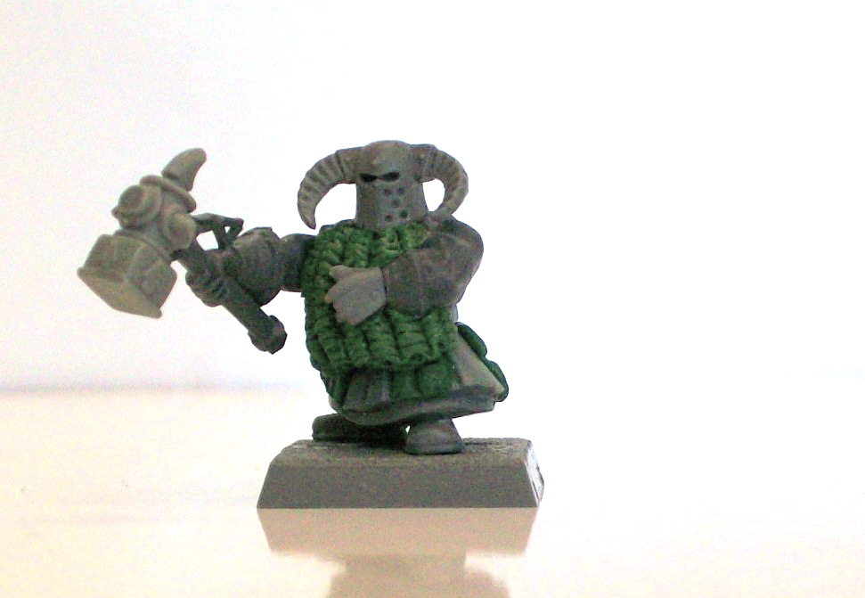 the land o misfit toys brad is sculpting again chaos dwarf rh landomisfittoys blogspot com