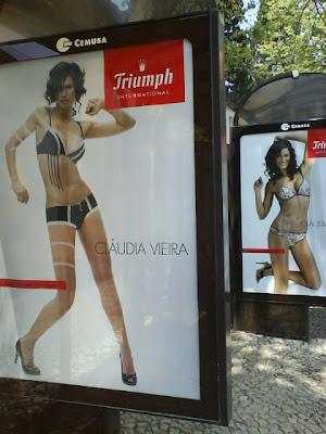 Cláudia Vieira / Triumph