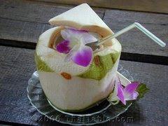 , ada yang beranggapan, air kelapa hanyalah limbah dari buah kelapa ...