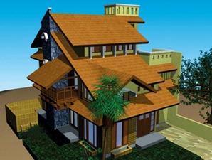 gambaran rumah masa depan yang bertema go green ilhamqodrat