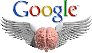 google brain, google logo