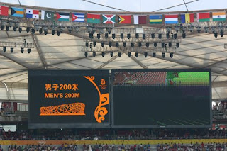 Olympic Men's 200 Metres heats