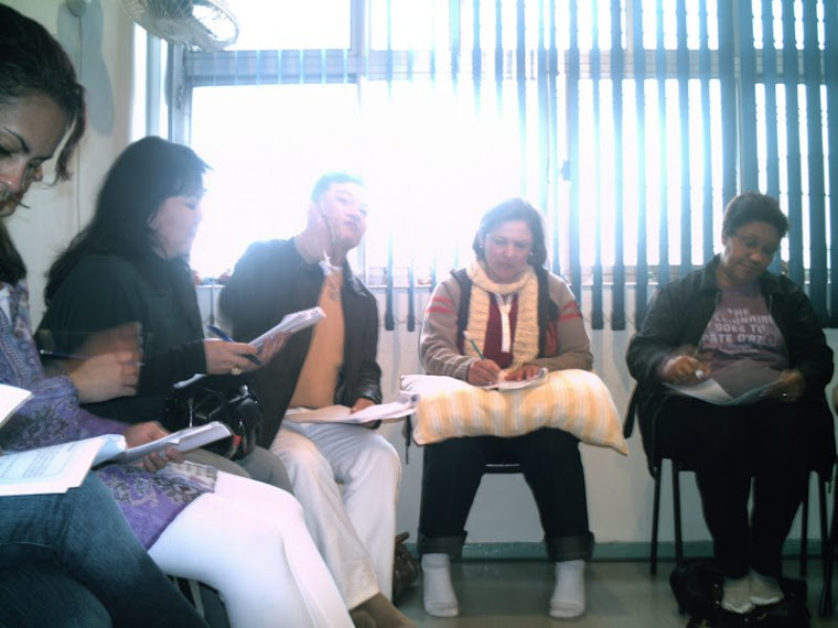 alunas do curso de reiki