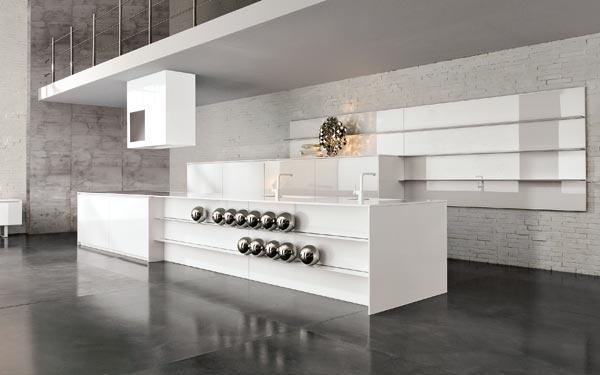 ... cucina per la nuova casa che avr? un unico ambiente soggiorno/cucina