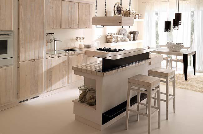 Consigli per la casa e l 39 arredamento cucine country idee e proposte d 39 arredo - Cucine in legno chiaro ...