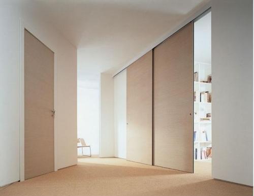 Ada architecture design art le porte in rovere sbiancato - Porte color ciliegio ...