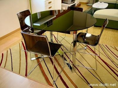 Consigli per la casa e l 39 arredamento consigli utili per la scelta del tavolo e delle sedie - Dimensioni tavolo tondo 4 persone ...