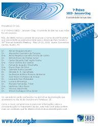 Trabalho do Grupo entre os 18 finalistas do Premio SBED - Jansen Cilag no 9º CBDOR