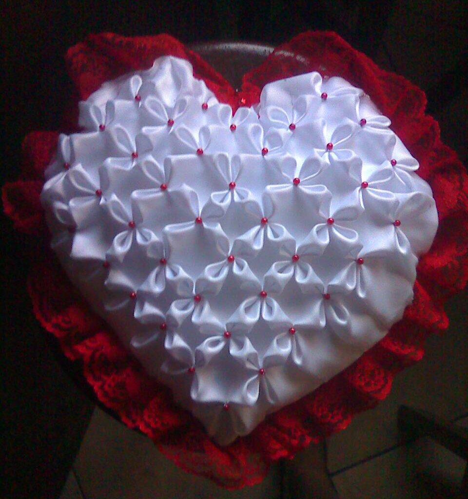 Fiz Esta Almofada Para Ser Usada Na Casamento Do Meu Irm  O Em