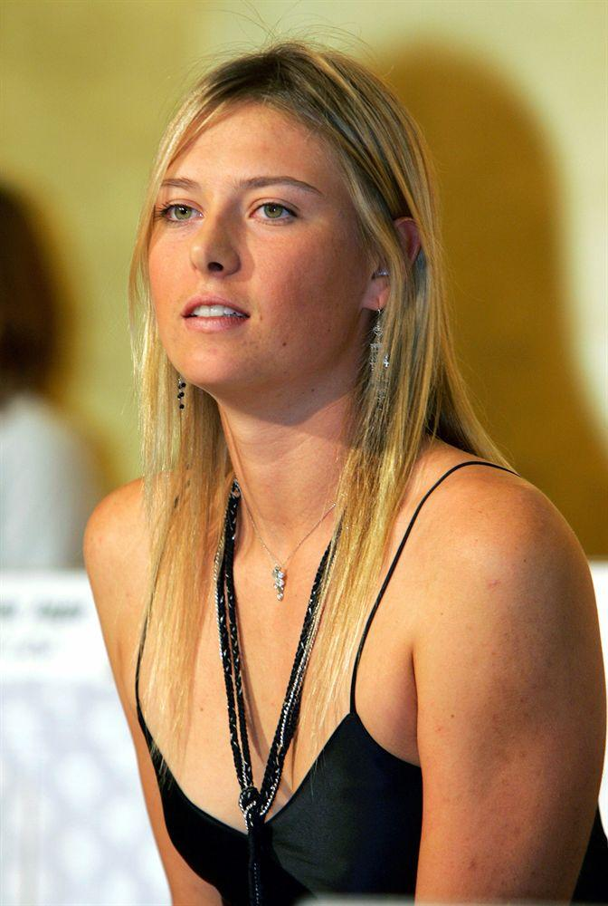 image Maria sharapova best of practice session