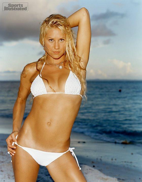 Anna Kournikova sexy bikini