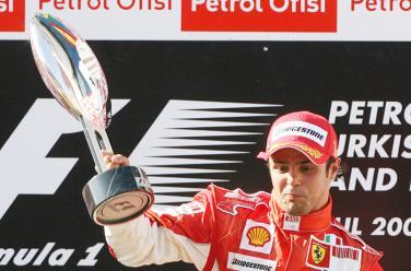 Ferrari Pilotu Felipe Massa