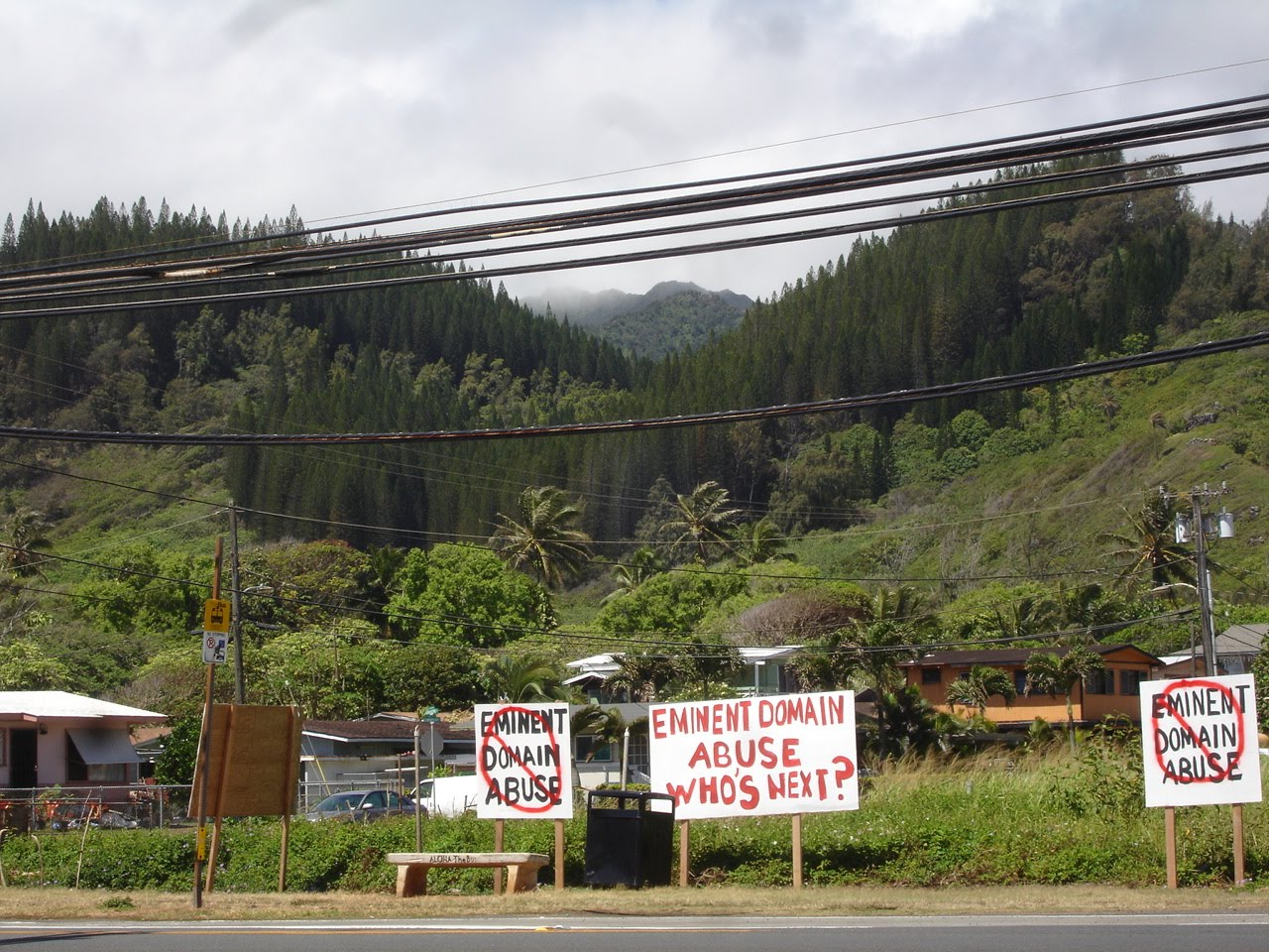 Hawaii Eminent Domain Abuse