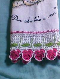 guardanapo de flores