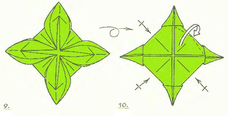 фигурку оригами.