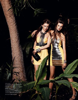 The Dutch Models: Kim Noorda - Harpers Bazaar Spanje