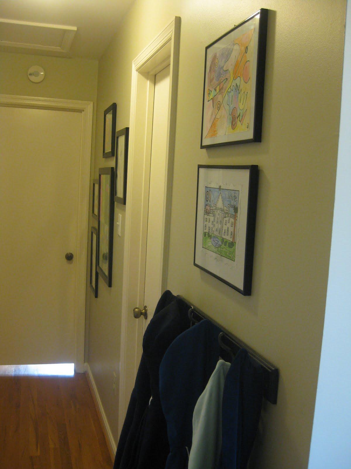 An inch of gray: no garage. no mudroom. no problem? small space ideas.