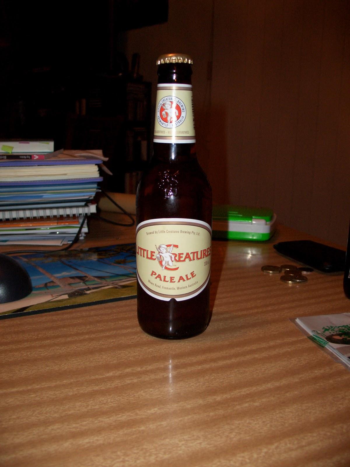 Little Creatures Pale Ale Standard Drinks