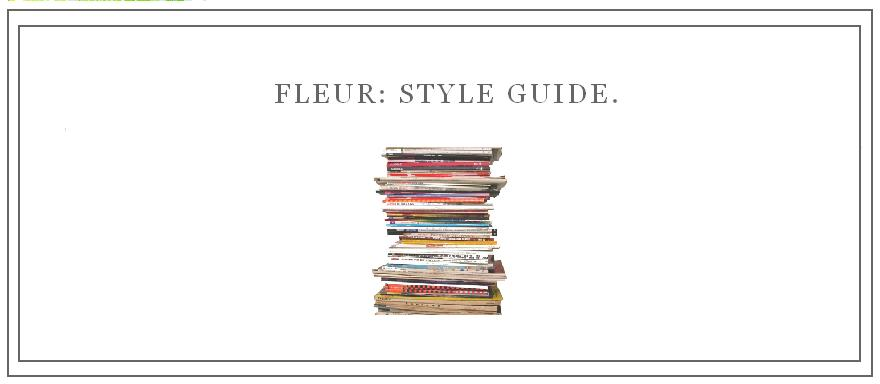 fleur: style guide.