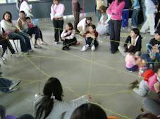 Enred-ando juego de construccion colectiva cierre del taller