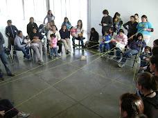 Juego final con red de hilos construccion colectiva
