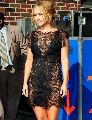 siyah dantelli elbise modelleri - �ok Moda; Dantelli Elbiseler