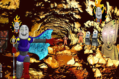 The Cavern of Dr. Diabolo by Sara Denny (2008)