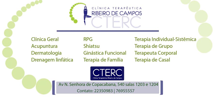 CTERC - Clínica Terapêutica Ribeiro de Campos