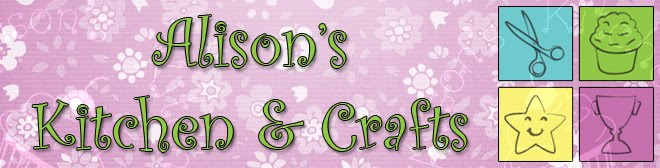 Blog Challenge Page - Alison's Kitchen and Crafts