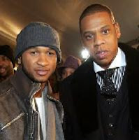 usher and jay z New Usher