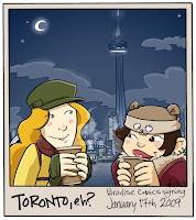 Danielle Corsetto Paradise Comics Toronto Print