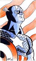 Captain America by Tony Fleecs (2009)