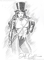 Zatanna by Dale Eaglesham (2009)
