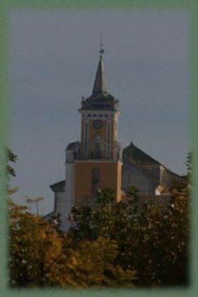 Torre de la Iglesia parroquial de Villamartín.