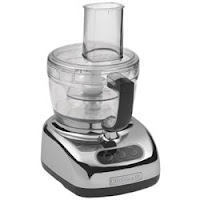 And for just a touch of retro (not to mention a little bit of birthday confusion) we have the chrome food processor.